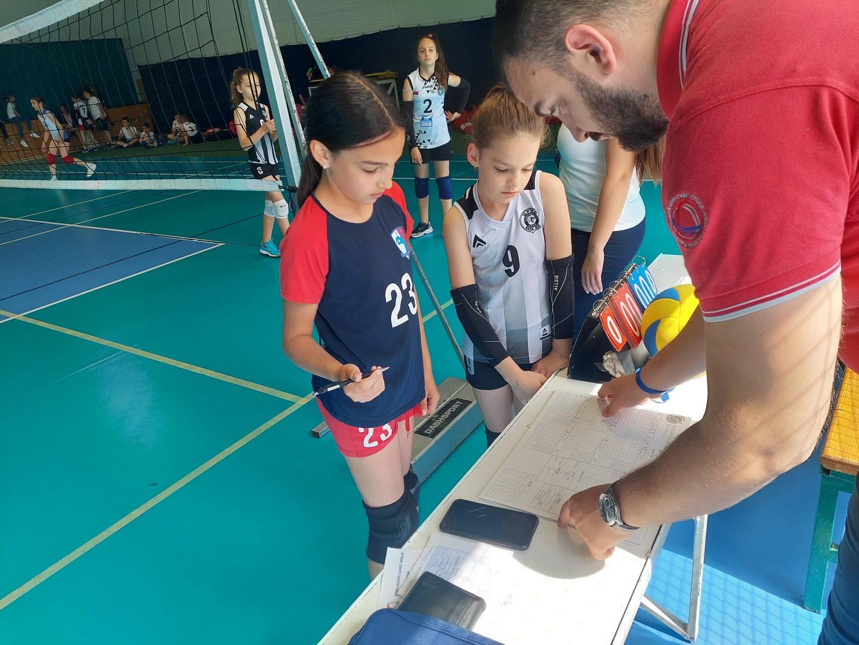Kapiteni   Mini Volley liga   V - VI kolo   sezona   2020/2021 - 3