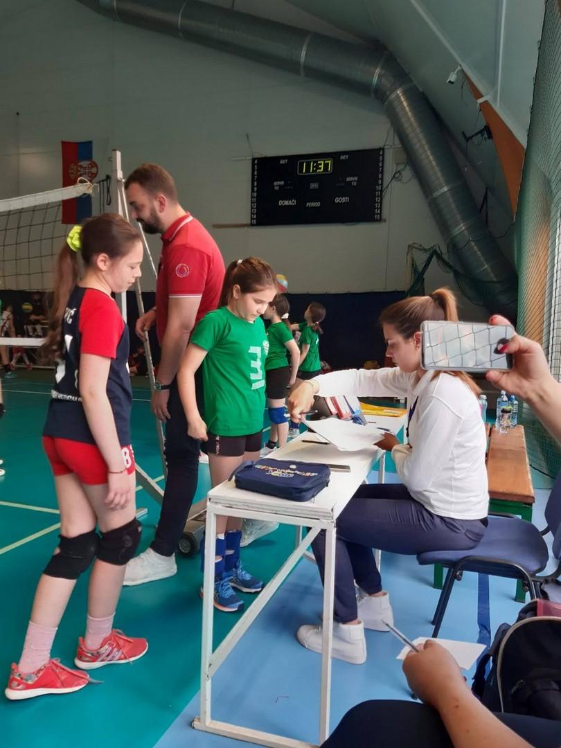 Kapiteni   Mini Volley liga   V - VI kolo   sezona   2020/2021 - 12