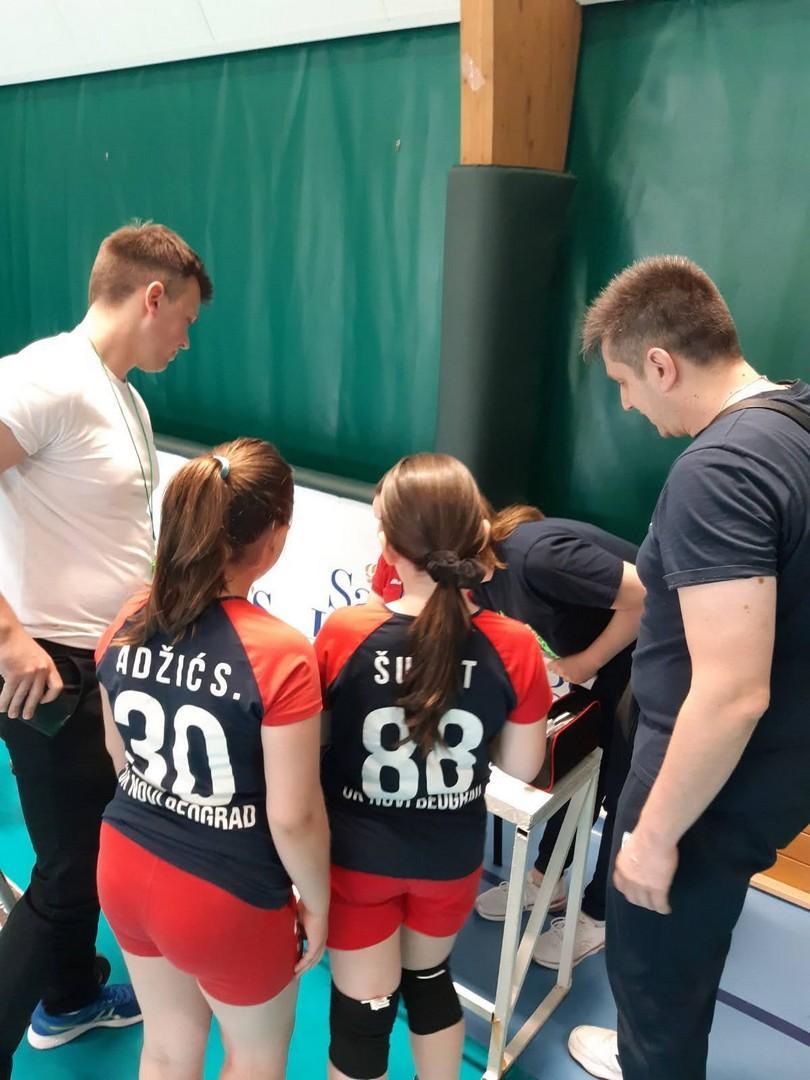 Kapiteni   Mini Volley liga   V - VI kolo   sezona   2020/2021 - 1