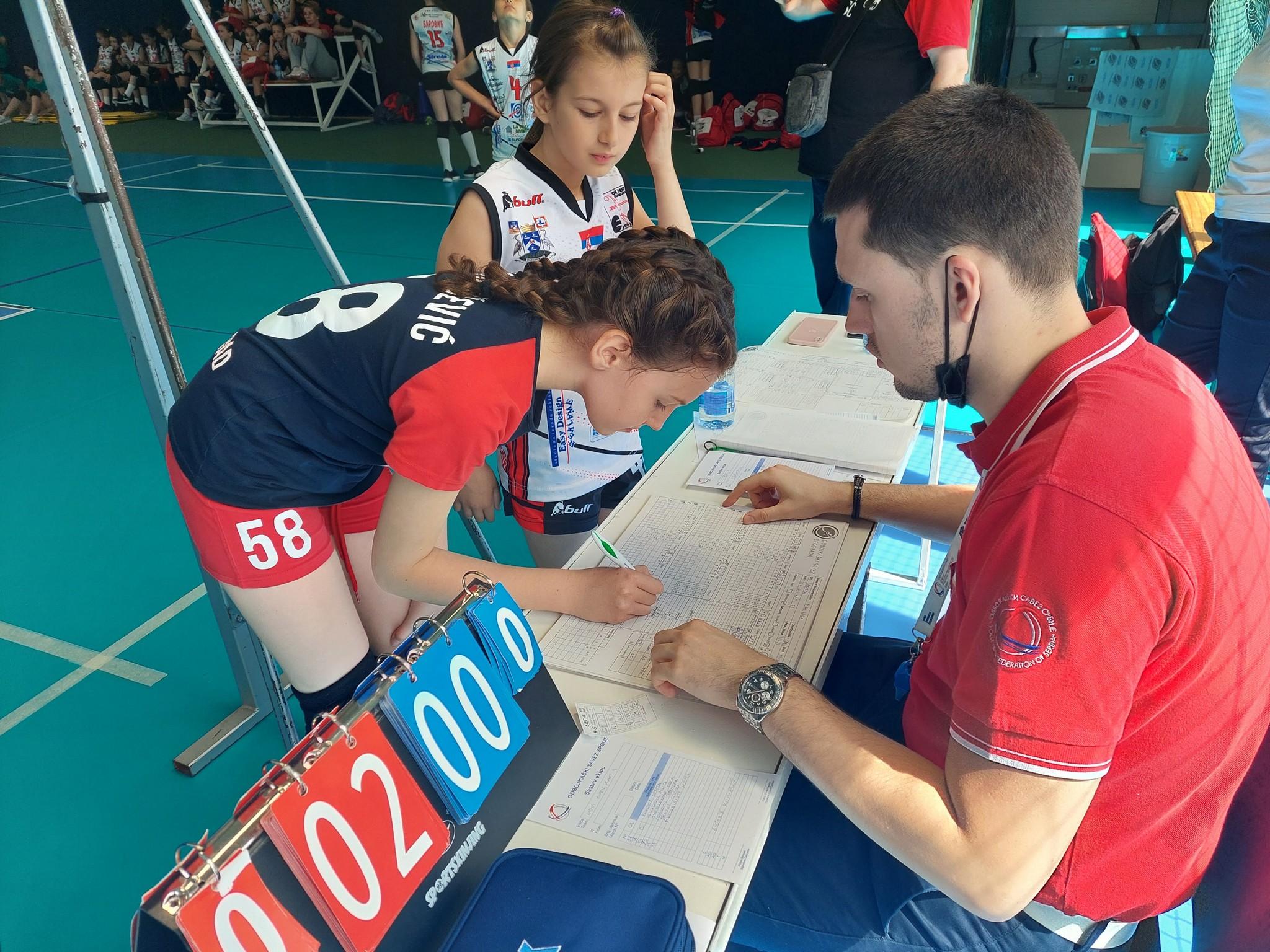 Kapiteni i ekipe | Mini Volley liga | III - IV kolo | sezona | 2020/2021 - 2