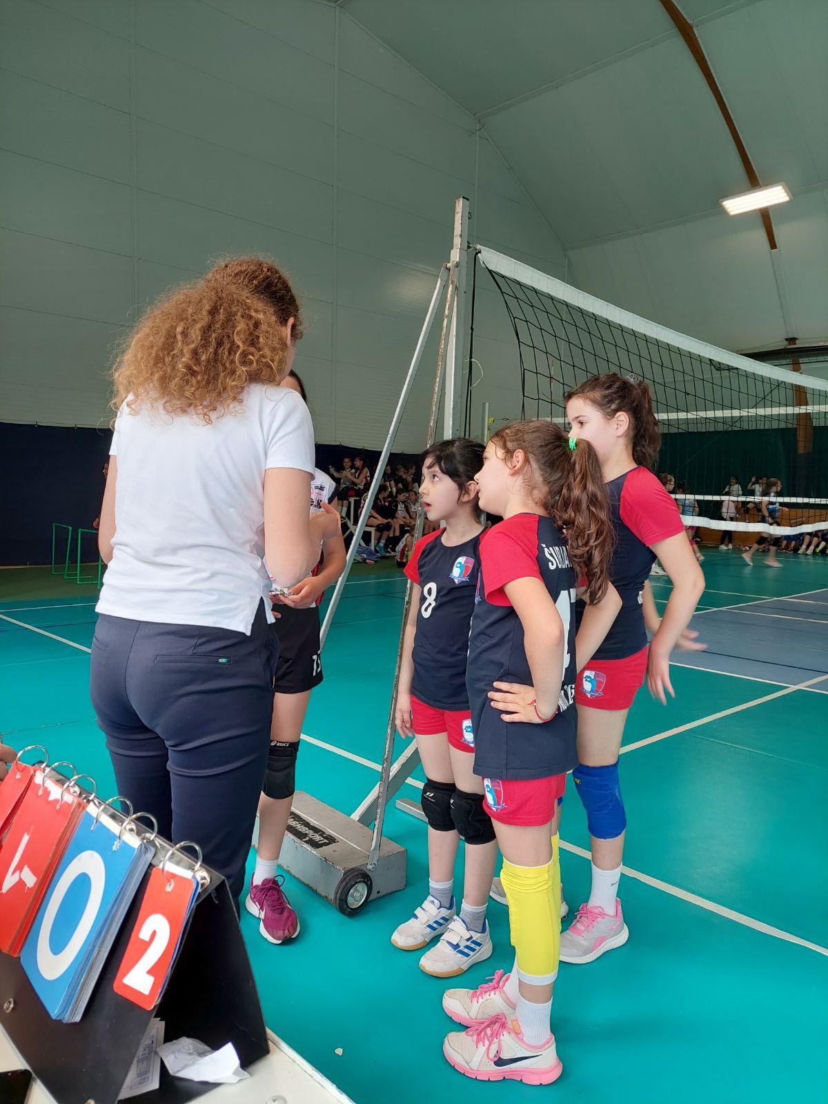 Kapiteni i sudije u akciji | Mini Volley liga | 2020/2021 | I/II kolo  | OK NBG - 4