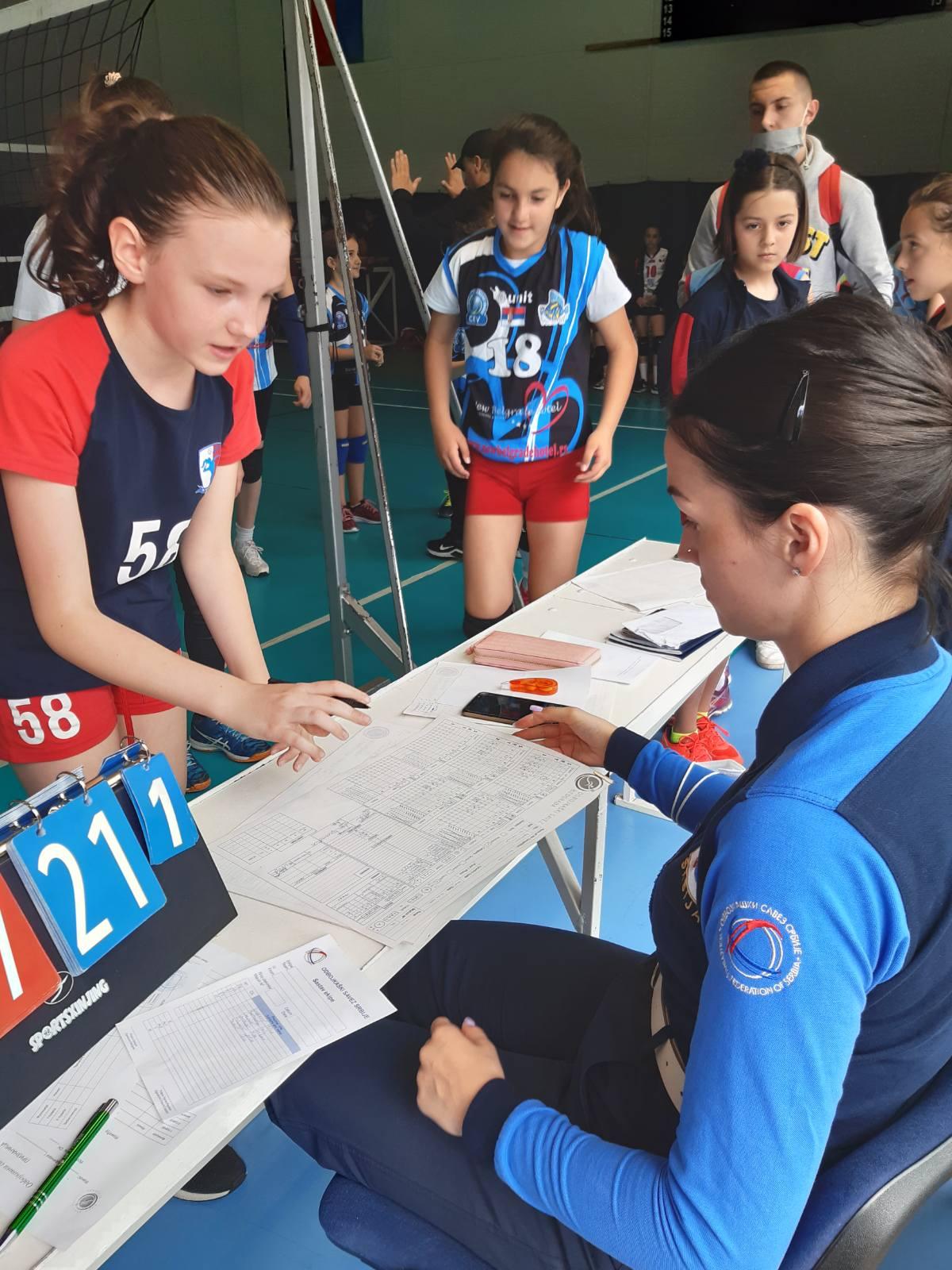 Kapiteni i sudije u akciji | Mini Volley liga | 2020/2021 | I/II kolo  | OK NBG - 6