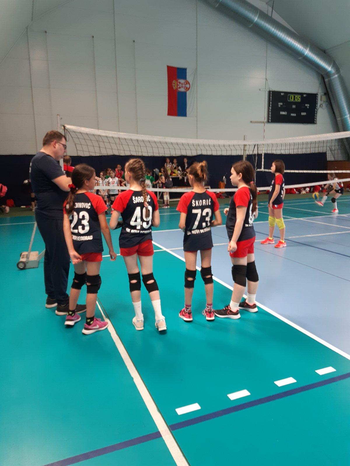 Utakmice   Mini Volley liga 2020/2021 - I/II kolo   OK NBG - 3