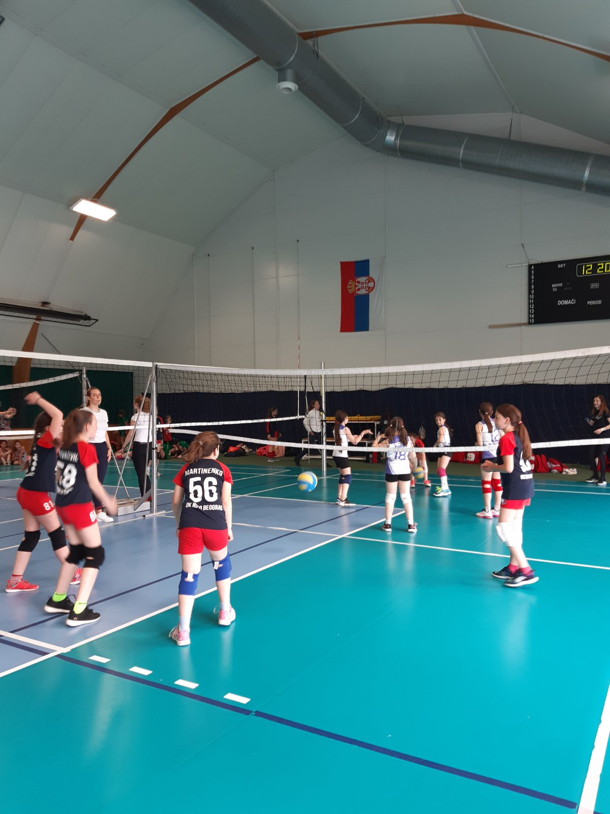Utakmice   Mini Volley liga 2020/2021 - I/II kolo   OK NBG - 11