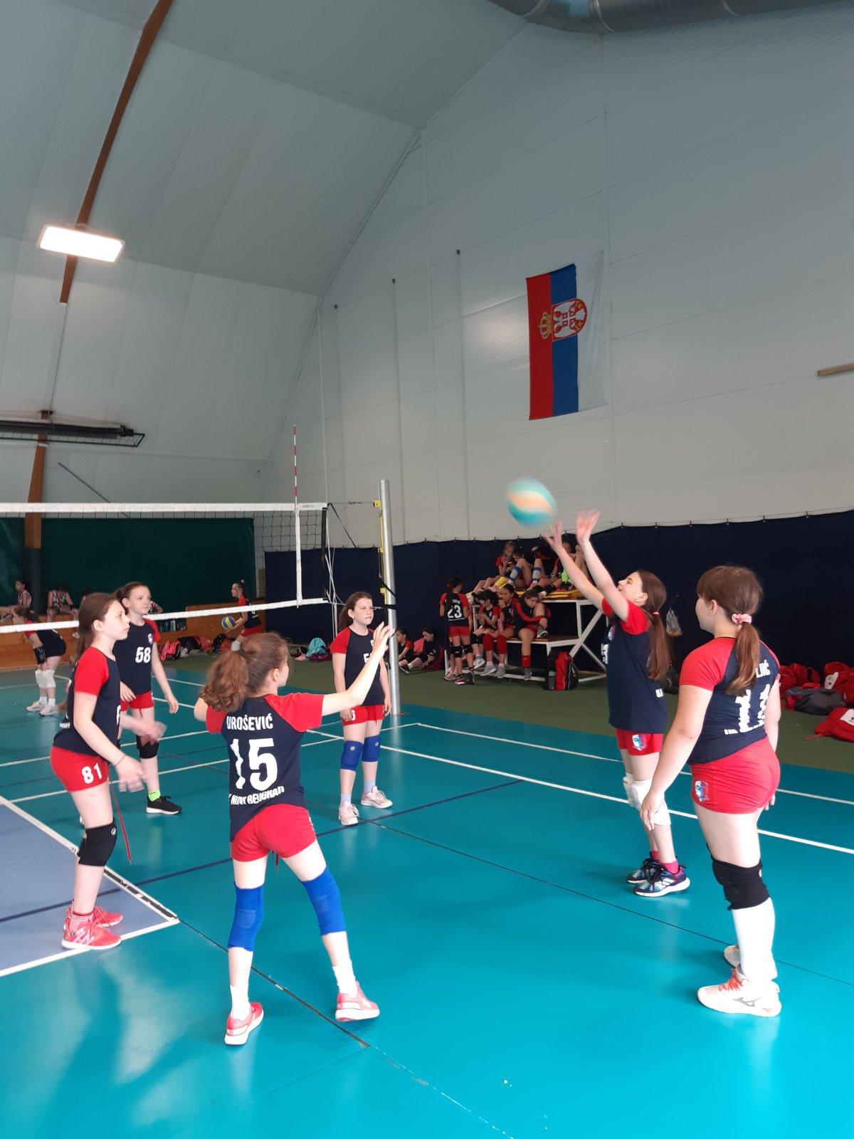 Utakmice   Mini Volley liga 2020/2021 - I/II kolo   OK NBG - 12