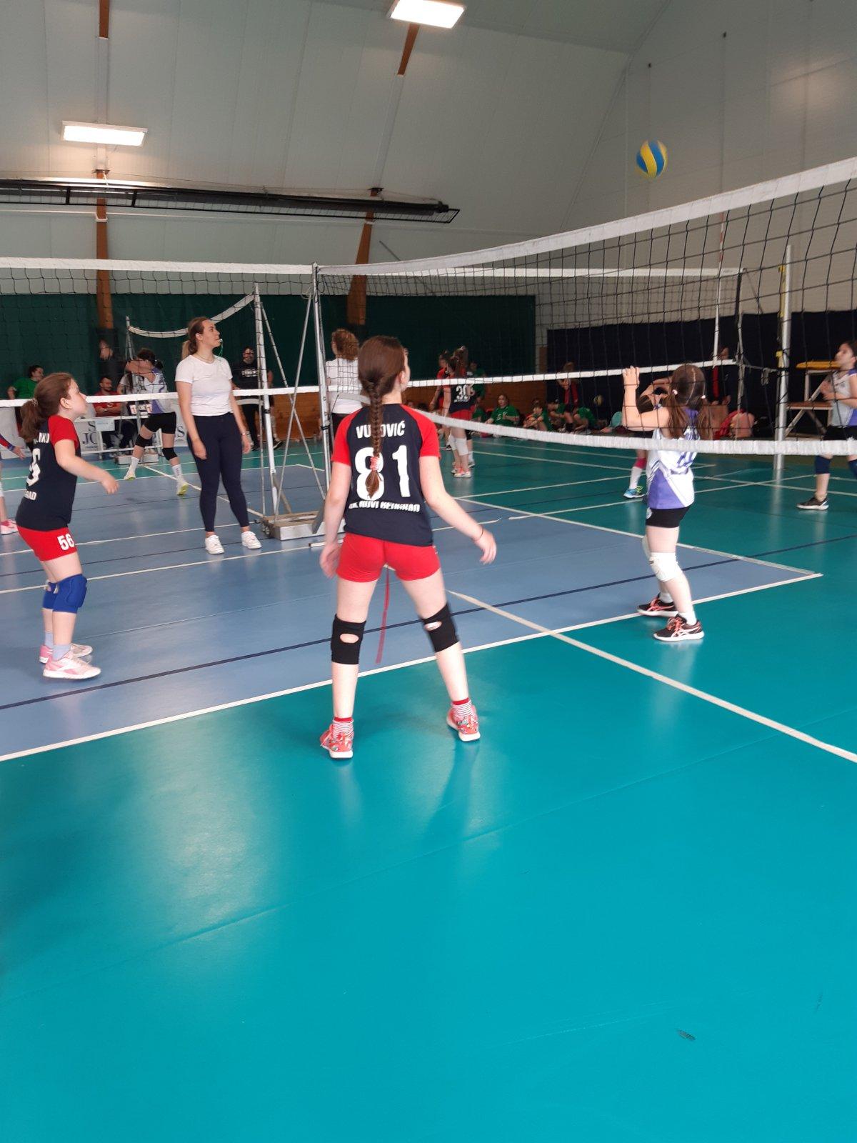 Utakmice   Mini Volley liga 2020/2021 - I/II kolo   OK NBG - 13