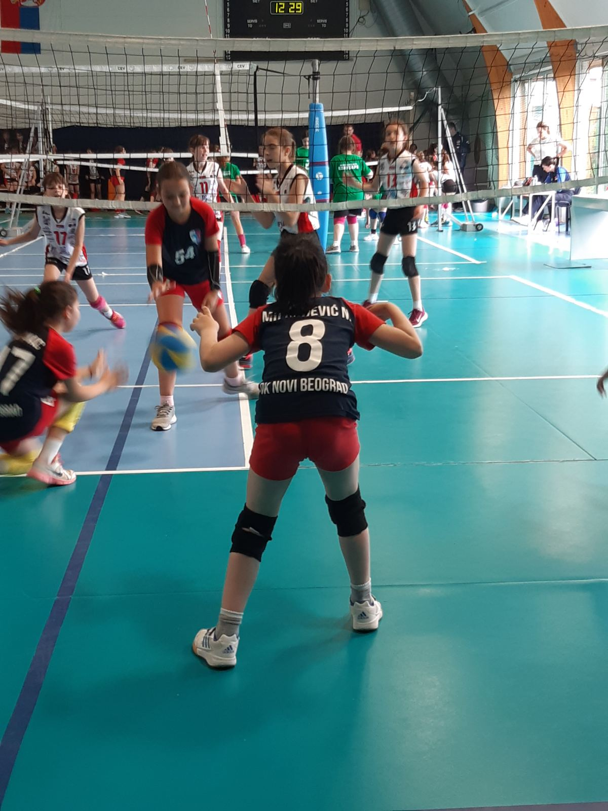 Utakmice   Mini Volley liga 2020/2021 - I/II kolo   OK NBG - 15